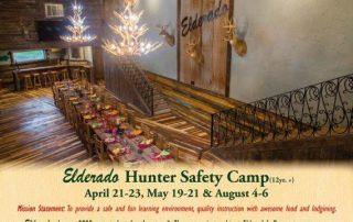 Eldorado Hunter Safety Camps 2017