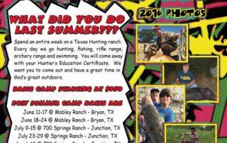 COA 2017 Summer Camp
